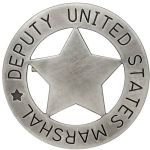 Deputy United States Marshal Badge 1